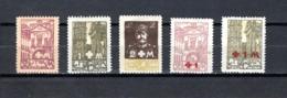 Lituania    1920   .-   Y&T  Nº    17/19-20/21    Ocupación Polonesa           ( Dentados ) - Lituania