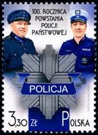 Poland 2019 Fi 4990 Mi 5140 100th Anniversary Of The Establishment Of The State Police - Nuevos