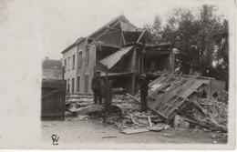No. 1 - Foto-Ak  Vom Frankreich -feldzug Feldzug Blitzkrieg 1939-40 2. WK - Zerstörtes Haus - Fotografie