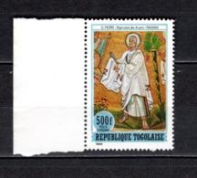 TOGO N° PA 543 NEUF SANS CHARNIERE COTE  9.00€  LES DOUZE APOTRES - Togo (1960-...)