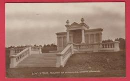 Ethe ( Latour ) - Monument Aux Victimes De La Barbarie Allemande ( Voir Verso ) - Virton