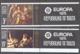 Malta 1975; Europa Cept, Michel 512-513.** (MNH) - Europa-CEPT