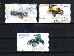 Spagna  - 2001. Auto Vintage. Distributeurs - Automobili