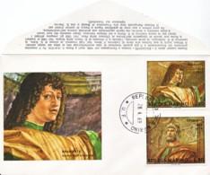 SAINT-MARIN : 1969 -  FDC - Bramante - Lettres & Documents