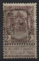 PREOS Roulette - LOUVAIN 1904 (position A). Cat 626 Cote 350. - Precancels