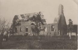 No. 2 - Foto-Ak  Vom Frankreich -feldzug Feldzug Blitzkrieg 1939-40 2. WK - Zerstörte Kirche - Fotografie