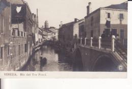 VENEZIA - Rio Del Tre Ponti - - Venezia (Venice)