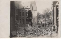 No. 6 - Foto-Ak  Vom Frankreich -feldzug Feldzug Blitzkrieg 1939-40 2. WK - Zerstörte Häuser Stadt - Fotografie