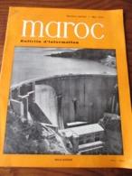 MAROC - Barrage De BIN EL OUIDANE - Bulletin D'Information De Mai 1955 . Numéro Spécial - 30 Pages - 18 Photos - Travaux Publics