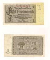 Eine Rentenmark - Berlin, 30.Januar 1937 - Sonstige