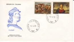 ITALIE : 1970 - FDC - Anniversaire De La Mort De Raphaël - Raffaello Sanzio - 1946-.. République