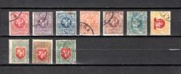 Lituania    1919   .-   Y&T  Nº    35/44 - Lituania