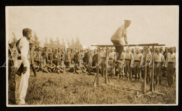 Photo Ancien / Original / 1918 / 2 Scans / German Soldiers / Deutsche Soldaten / Photo Size: 6.30 X 10.80 Cm. - Guerre, Militaire