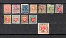 Lituania    1919-20   .-   Y&T  Nº    45/55 - 65 - Lituania