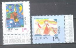 Lithuania 1997; Europa Cept, Michel 636-637** (MNH) - Europa-CEPT