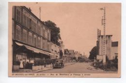 SAINT MICHEL SUR ORGE (91) - RUE DE MONTLHERY ET PASSAGE A NIVEAU - Saint Michel Sur Orge