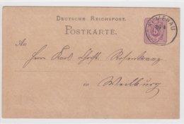 2 Karten Nach Weilburg Aus Dem Jahr 1878 - Documentos Históricos