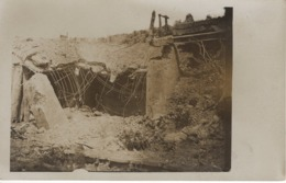 No. 10 - Foto-Ak  Vom Frankreich -feldzug Feldzug Blitzkrieg 1939-40 2. WK - Zerstörte Stellung Bunker - Fotografie