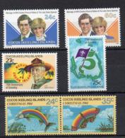 Iles COCOS  Timbres Neufs ** De 1981 /1984  ( Ref 768 C ) - Cocos (Keeling) Islands
