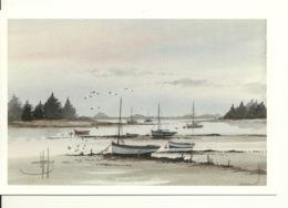 REFLETS DE BRETAGNE / AQUARELLE De STEPHANE LAURO - Peintures & Tableaux