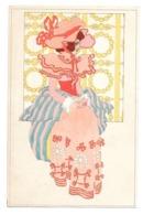CPA M M VIENNE 121 FEMME ART NOUVEAU JUGENDSTIL - Künstlerkarten