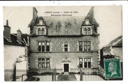 CPA-Carte Postale-France-Lorris - Hôtel De Ville  VM6794 - Montargis