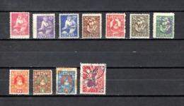 Lituania  1921-22  .-   Y&T  Nº    85/94-97 - Lituania