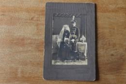 PHOTO HUSSARD DE LA MORT AVEC CROIX DE FER ALLEMAND WWI - 1914-18