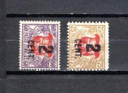 Lituania  1922  .-   Y&T  Nº    137/138 - Lituania