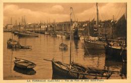 La Turballe - Vue Du Port Et Quai St Pierre - Animation - La Turballe