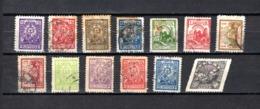 Lituania  1923  .-   Y&T  Nº    175/182-184/187-188 - Lituania