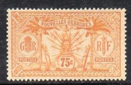 APR2825 - NUOVE NOUVELLES HEBRIDES 1910,  Yvert N. 34  ** MNH (2380A) - Leggenda Francese