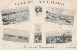 CONFINS TRIPOLITAINS - N° 4 - SOUVENIR DE LA CAMPAGNE 1915 - 1916 - DEHIBAT - FOUM-TATAHOUINE - OUM-SOUIGH - CONVOI - Tunesië
