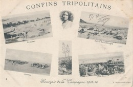 CONFINS TRIPOLITAINS - N° 4 - SOUVENIR DE LA CAMPAGNE 1915 - 1916 - DEHIBAT - FOUM-TATAHOUINE - OUM-SOUIGH - CONVOI - Tunisie