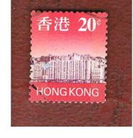 HONG KONG - SG 849  -  1997  SKYLINE  20   - USED ° - 1997-... Région Administrative Chinoise