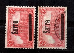 Sarre YT N° 17 Neuf ** MNH Et Oblitéré. B/TB. A Saisir! - 1920-35 Sociedad De Naciones