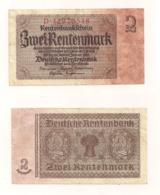 Zwei Rentenmark - Berlin, 30.Januar1937 - Other