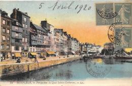 Honfleur - Perspective Du Quai Ste-Catherine - Honfleur