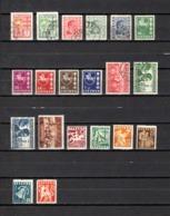 Lituania  1936-40  .-   Y&T  Nº    353/354-355/357-358/361A-366/367-369-373-376/381 - Lituania