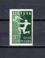 Lituania  1938  .-   Y&T  Nº    362    ** - Lituania