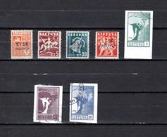 Lituania  1940-90  .-   Y&T  Nº    382/383-387/388-390/392 - Lituania