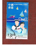 HONG KONG - SG 934  -  1998 SCOUT ASSOCIATION  - USED ° - 1997-... Région Administrative Chinoise