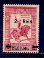 ! ! Portuguese India - 1950 Imperio 2 R - Af. 401 - MH - Portuguese India