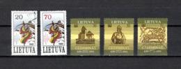 Lituania  1991  .-   Y&T  Nº    415/416 - 417/419 - Lituania