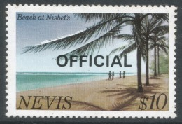 Nevis. 1981 Official. $10 MH. SG O22 - St.Kitts And Nevis ( 1983-...)