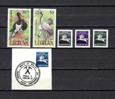 Lituania  1991  .-   Y&T  Nº    420/421-422/425 - Lituania