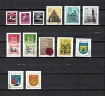 Lituania  1993  .-   Y&T  Nº    442/444-445/447-448/449-450-452-456/458 - Lituania