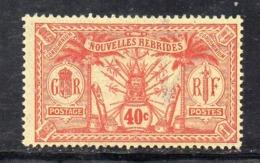 APR2831 - NUOVE NOUVELLES HEBRIDES 1910,  Yvert N. 43  ***  MNH    (2380A) - Leggenda Francese
