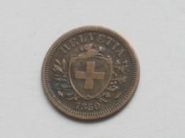 RARE !!!!    1 Centime Rappen  1850 A  - Suisse - Switzerland  **** EN ACHAT IMMEDIAT **** - Suisse