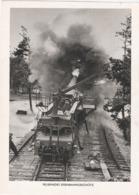 Propaganda  Karte, Feuerndes Eisenbahngeschütz - Weltkrieg 1939-45